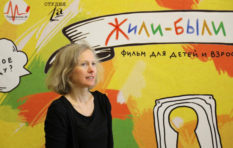Анна Чернакова на премьере фильма в Нижнем Новгороде