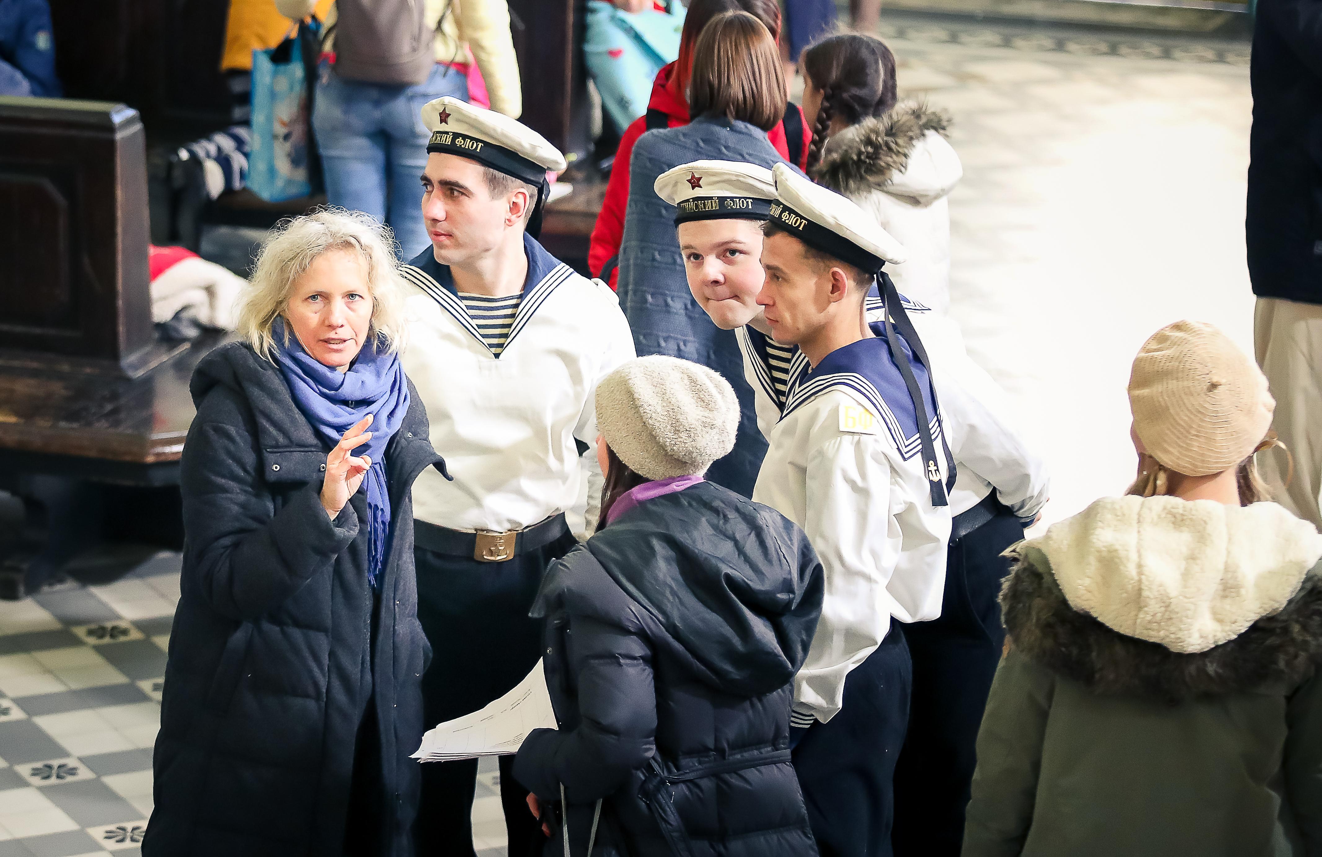 съёмки на Витебском вокзале
